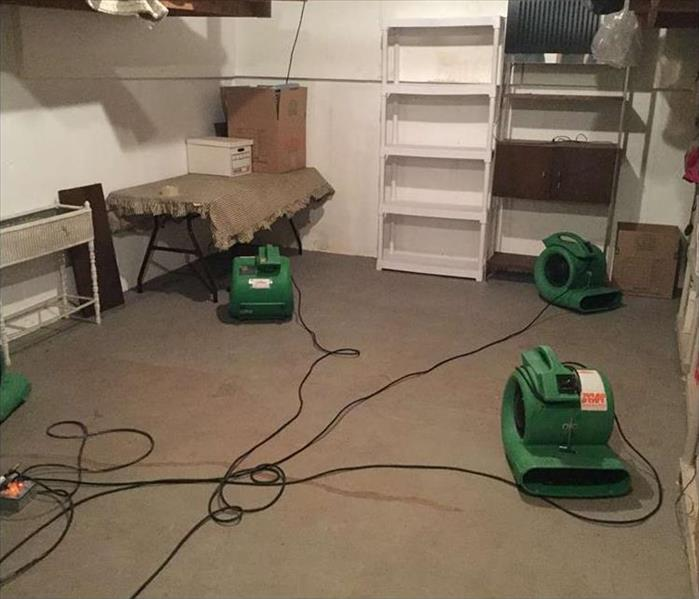 New London Commercial Water Damage restoration After