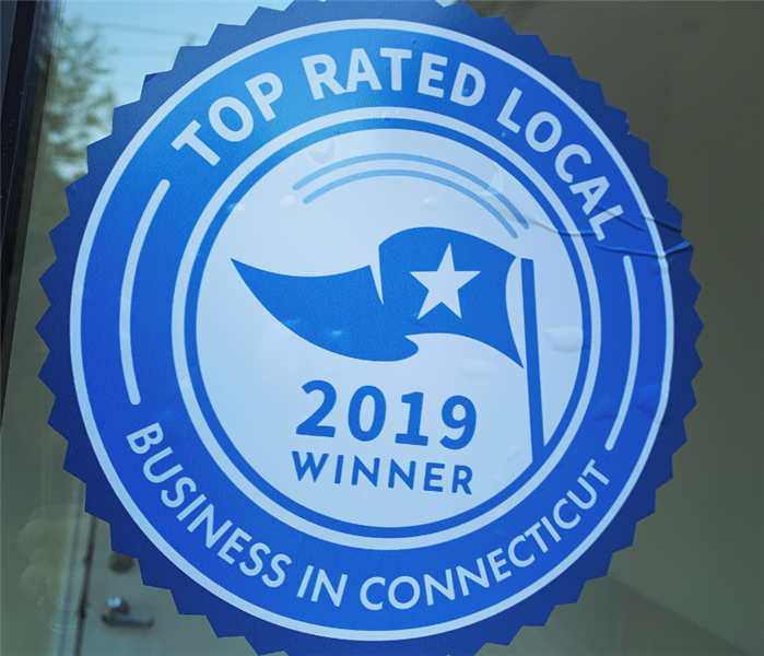 top rated local 2019 sticker on window