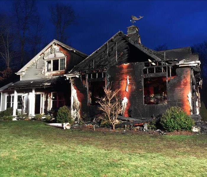 Fire Damage Cleaning and Restoration in New London CT